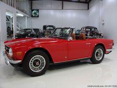 DANIEL SCHMITT & CO CLASSIC CAR GALLERY PRESENTS: 1972 TRIUMPH TR-6 ROADSTER