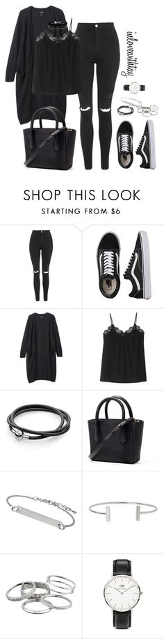 9❤ by inlovewithtay on Polyvore featuring mode, Monki, Topshop, Vans, Daniel Wellington, Kendra Scott, Miss Selfridge and Humble Chic