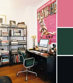 AphroChic: 10 Colorful Workspace Palettes
