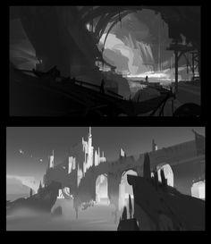 ArtStation - 2018 .3.2 sketch, Dawnpu at Art vision studio