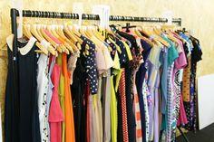Colorful Vintage Closet