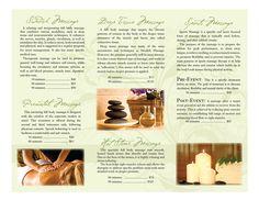 Massage Therapy Brochures | Portfolio / Massage Therapy Brochure