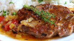 vepřové maso | Vaření s Tomem Pork Recipes, Cooking Recipes, Food 52, Meatloaf, Steak, Food And Drink, Dinner Recipes, Menu, Treats