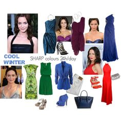 """COOL WINTER: Emily Blunt"" by littlemonster189 on Polyvore"
