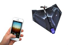 PowerUp 3.0 Converts any Paper Airplane into an RC Plane with a POV Camera (video)