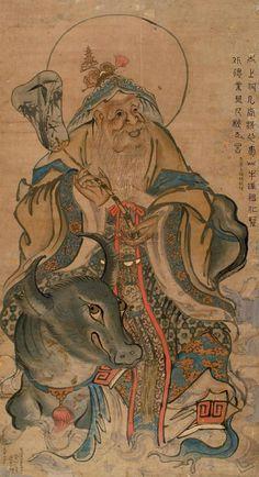 太上老君 Taishang Laojun, c'est-à-dire Laozi divinisé