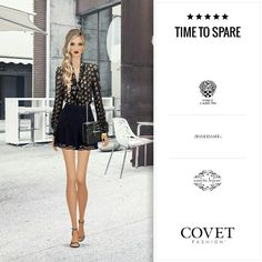 Covet Fashion Game. Look: Time to Spare.