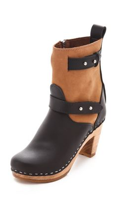 #LoefflerRandall Clog Biker Booties  Cannot get enough of their designs #Fallbootie