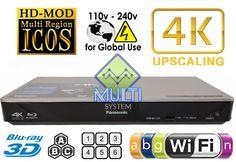 Panasonic DMP-BDT270 Region Free DVD and Zone ABC Blu Ray Player 100-240 Volts #Panasonic
