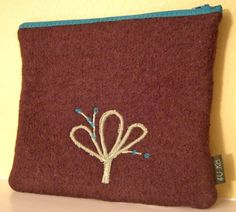 Gadget Accessory Bag Checkpoint Friendly Hand Knit  by 4UbyK8, $36.00