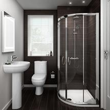 Looking for a small bathroom remodel ideas? Don't worry, we show some of our favorite small bathroom remodel ideas that really work. Get ready to have a small bathroom that looks twice bigger than its original size with Woodoes team! Tiny Bathrooms, Ensuite Bathrooms, Amazing Bathrooms, Bathroom Vanities, White Bathrooms, Modern Bathrooms, Bathroom Spa, Remodel Bathroom, Shower Remodel