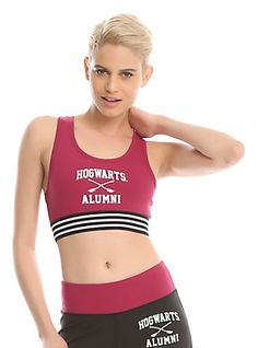 85bd41c2dbaaa Harry Potter Hogwarts Alumni Low-Impact Sports Bra