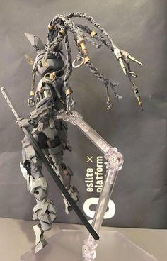 Embedded Barbatos Lupus Rex, Arte Robot, Frame Arms Girl, Tech Art, Cosplay Armor, Robot Concept Art, Anime Figurines, Suit Of Armor, Vinyl Toys