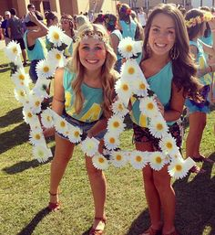 Bid Day: flower power theme for Spring 2013! Can't wait!