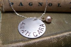 Friendship Necklace  Soul Friend Necklace Anam by EmilinaBallerina, $15.00