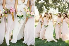 long dresses for bridesmaids