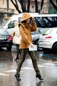 Photos: Photos: Best-Dressed Street Style at Milan Fashion Week Fall 2013 | Vanity Fair