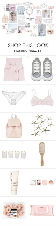 """BRA / LUCKY"" by paty ❤ liked on Polyvore featuring Marc, Home Source International, Alexander McQueen, L'Agent By Agent Provocateur, daria, Mansur Gavriel, Witchery, Philip Kingsley, Chantecaille and Korres"