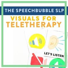 We all know the power of visuals! Teletherapy can make things a little tricky sometimes but its nothing a good visual can't help with. Use these visuals to cue your student to turn their mic on, volume up, etc. ━━━━━━━━━━━━━━━━━━━━━━━━━━━━━━━━━━━━━━━━━━━━━ WHY 'VISUALS FOR TELETHERAPY'?✏ EASY TO U...