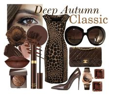 Deep Autumn Classic Style by prettyyourworld on Polyvore featuring Michael Kors, Dolce&Gabbana, Chanel, Glashütte Original, Marc by Marc Jacobs, Valentino, Laura Mercier, Tom Ford, Burberry and Smashbox