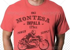 Classic Motorbike T-ShirtDesign Devisers ITEM DESCRIPTION:      4 Design Classic Motorbike T-Shirt with Vintage & Retro style     100% Vector illustration     All Text is easy editable     Use 1 Colors CMYK + text (same or different color)     Possible and easy change color  FEATURED:      4 Vector File (Ai & Eps)     Print ready     Size: 10.2×7 inch     Organized layers     Free Font