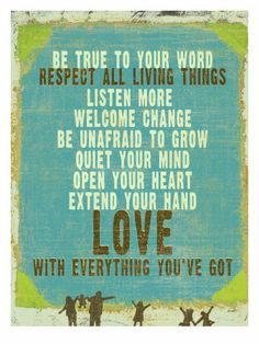 Be True Love Big Premium Poster by Lisa Weedn Best Love Quotes, Great Quotes, Quotes To Live By, Favorite Quotes, Me Quotes, Inspirational Quotes, Quotable Quotes, Wisdom Quotes, Respect Quotes