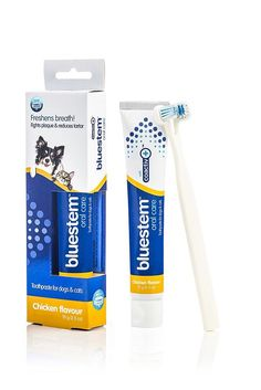 Pet Oral Care Toothpaste for Dogs Cats Freshens Breath Fights Plaque 2.5 oz  #Bluestem