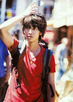 Japanese actor: 佐藤 健 (Takeru Satoh)