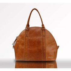 Pretty leather diaper bag from babybeau