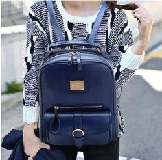 Marca de la PU de cuero de muy buen gusto mochilas de estilo chicas lindas mochilas de cuero mochilas de cuero genuino moda mujer falsos envío gratis en Mochilas Casuales de Bolsos y Maletas en AliExpress.com | Alibaba Group