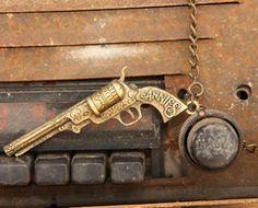 Junk Gypsy PISTOL ANNie's necklace!!!