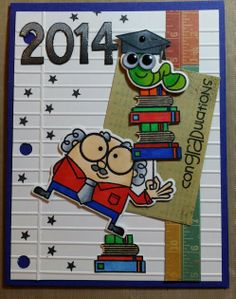 Paper Smooches....smarty pants!  Just love this set.  The piece of paper embossing folder adds the perfect touch.