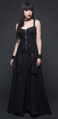 Womens - Dresses - Bondage Ball Gown