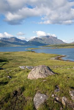 Torridon Hills, looking over Upper Loch Torridon to Liathach and Beinn Deag, Scotland (Photo by Nurmanman)