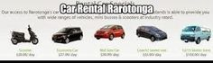 Get quality vehicles including cars and scooters hire at very reasonable prices in Rarotonga. Our rental car include complete touring of Rarotonga.