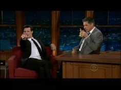 Matt Smith with Craig Ferguson on the Late Late Show (11/16/10)