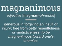 #dictionary #magnanimous #highways #better