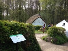 St Fagan's Welsh museum of life . Pictures taken today Easter Monday 2014