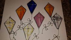 Stained glass kite