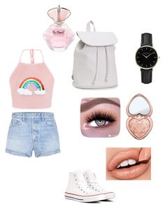 """Untitled #137"" by vivid-styles on Polyvore featuring GRLFRND, Converse, Aéropostale, ROSEFIELD and Too Faced Cosmetics"