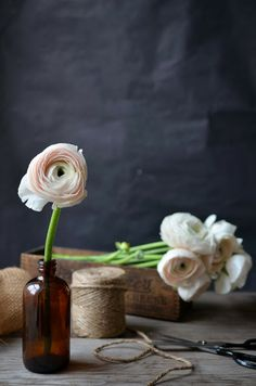Heart of Gold Petal by Petal:: 'Cloony' Ranunculus