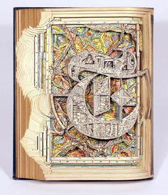 Book art, Brian Dettmer