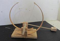 How to make a Da Vinci Catapult. Video tutorial here http://www.stormthecastle.com/catapult/make-a-davinci-catapult.htm