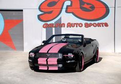 Aftermarket Tuners Convertible Ford  Warriorpinkmain Galpin Warriors In Pink Mustang
