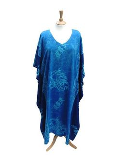 Country Kaftan in Blue