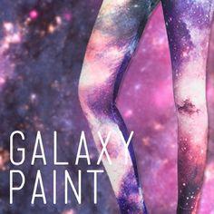 Galaxy Paint Leggings!