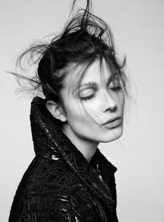 // Larissa Hofmann by Benjamin Vnuk for #SleekMagazine F/W 2013-2014