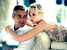 George Clooney and Gemma Ward by hollywood.loser, via Flickr