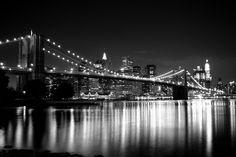 black and white photo