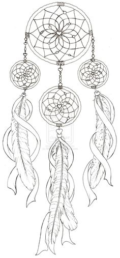 Dream Catcher with Pheasant Feather Tattoo by ~Metacharis on deviantART